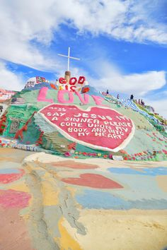 New Year, New Adventures, and a trip to Salvation Mountain Adventure Is Out There, Adventure Time, Adventure Travel, The Places Youll Go, Places To Visit, Places To Travel, Travel Destinations, Salvation Mountain, Travel Aesthetic