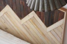 wooden headboards...