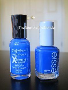 nail polish dupes images | The Reasonable Blog: Nail Polish Dupe Alert: Sally Hansen Pacific Blue