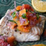 Apricot Salsa (on pork tenderloin) - The View from Great Island