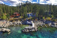 Tour a Stunning Lake Tahoe Home in Glenbrook, Nev. | 2016 | HGTV >> http://www.hgtv.com/design/ultimate-house-hunt/2016/waterfront-homes/waterfront-homes-lake-tahoe-stunner-in-glenbrook-nev?soc=pinterest