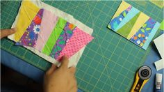 How to make Quilted Fabric Postcards - via @Craftsy