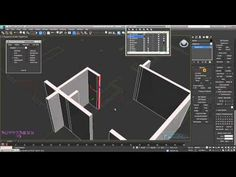 3ds Max Modelling a Complete Apartment Part 1 - YouTube
