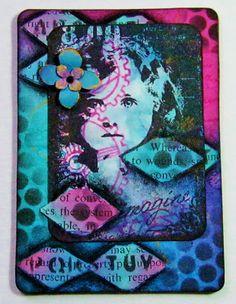 38 Best Atc Cards Images Atc Cards Art Journals Art Diary border=