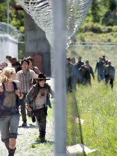 The third season of The Walking Dead