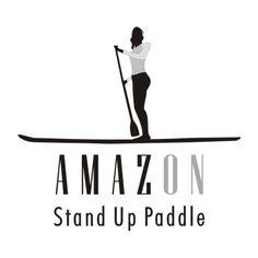 Stand Up Paddle Amazon (Amazon SUP) en blanco y negro (03)
