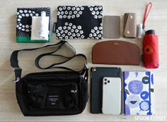 What In My Bag, What's In Your Bag, Marimekko, You Bag, My Bags, Lunch Box, Shoulder Bag, Iphone, Minimalist