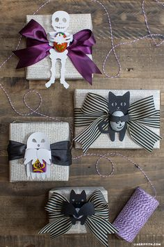DIY Halloween Candy Hugger Templates from MichaelsMakers Lia Griffith