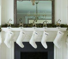 chaussette pour la décoration de Noël