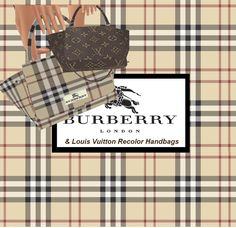 - JMS Creations - Burberry & Louis Vuitton Celine Handbag Recolor @ - JMS Creations - http://jessicamadelene.weebly.com