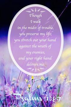 ❥ Psalm 138:7