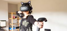Virtual Reality is Finally Here: HTC Vive Review (& Giveaway) #giveaway