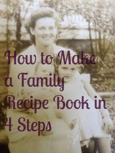 How to make a family recipe book - the easy way. One of the best family projects is to create a family cookbook. These cookbooks will be treasured. Informations About How to make a family recipe book Making A Cookbook, Homemade Cookbook, Create A Cookbook, Cookbook Ideas, Cookbook Template, Make Your Own Cookbook, Cookbook Display, Fixate Cookbook, Cookbook Storage