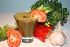 Dinner in a Glass - Garlic Greens