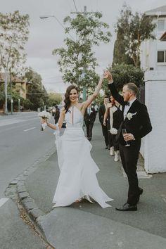 Chic Wedding At The George Ballroom - Polka Dot Bride | Photo by Jackson Grant http://www.jjacksongrantt.com/