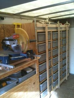 contractor trailer storage ideas - Google Search