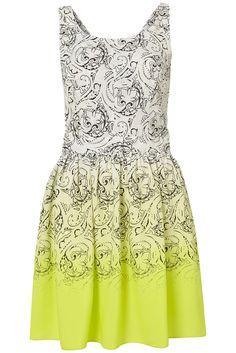 Ombre paisley dress ♥