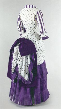 Holy shi-  It's got stripes, polka dots, _and_ it's purple?  That's a dress I would've worn (and still would, honestly).