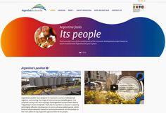 Expo 2015 Milano Blog: Argentina pabellon... Pavilion of Argentina, the W...