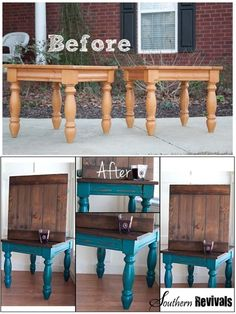 Tons of amazing DIY furniture redos. Also benefits of different spray paint brands.