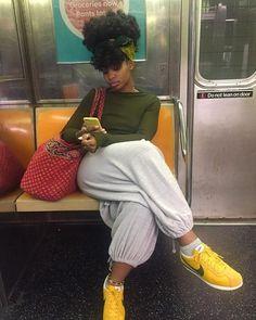 Natural Hair Care Hacks Every Ninja Needs To Master!- Natural Hair Care Hacks Every Ninja Needs To Master! – The Blessed Queens Natural Hair Care Hacks Every Ninja Needs To Master! – The Blessed Queens – - Black Girl Fashion, Look Fashion, Black Girl Style, Miami Fashion, Winter Fashion, Fashion Design, Girl Outfits, Cute Outfits, Fashion Outfits