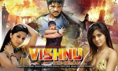 Poster Of Vishnu The Heman (2003) In hindi dubbed 300MB Compressed Small Size Pc Movie Free Download Only At downloadhub.net