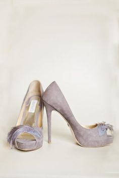 Featured Photographer: Courtney Bowlden Photography; Purple wedding shoes idea
