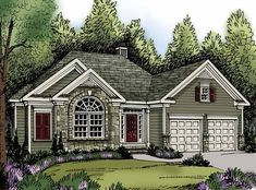 Eplans Traditional House Plan - Three Bedroom Traditional - 1851 Square Feet and 3 Bedrooms from Eplans - House Plan Code HWEPL62891