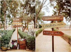 Locais importantes para os noivos