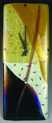Fused Glass Pendulum Wall Clocks Nina Cambron