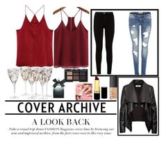 """""""Untitled #78"""" by ajla-klapic ❤ liked on Polyvore featuring 7 For All Mankind, HIDE, NARS Cosmetics, Revlon and Torrid"""