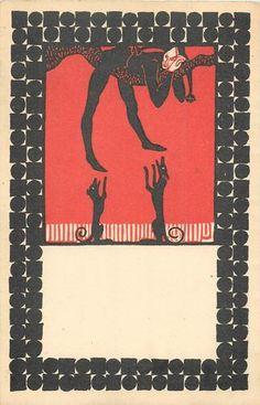 Postcard Wiener Werkstatte Postcard No 18 by Urban Janke | eBay