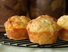 The Best Cheese Muffins Plain Flour Recipes on Yummly Yogurt Muffins, Savory Muffins, Savory Snacks, Cheese Scones, Cheese Puffs, Muffin Tin Recipes, Baking Recipes, Flour Recipes, Cheddar