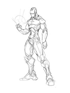 warm up sketch. continuing trend of drawing all the avengers in the new movie. three down, four to go.