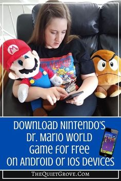 It's the 30th Anniversary for Nintendo's Dr. Mario! Celebrate by downloading a free copy of this classic game (available on Android or IOS)   #Nintendo #DrMarioWorld #GameReview Games To Buy, Games For Kids, Rainy Day Games, Indoor Games, 30th Anniversary, Family Games, Free Games, Diy Tutorial, Family Travel