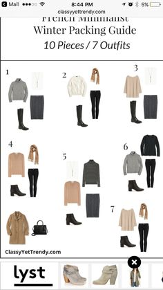 French Minimalist Winter Travel Packing Guide   Classy Yet Trendy