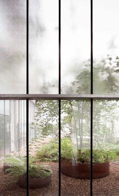noa architects office and garden design by Jan Minne | Frederik Vercruysse photographer