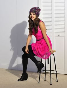 May 23: Selena on set of the Dream Out Loud fall campaign shoot for Kmart