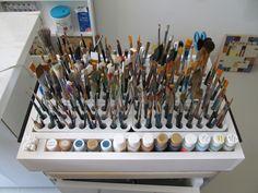 my paint brush holder