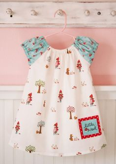 Little Red Riding Hood Dress  DIY KIT  12 Mo by alittlesweetness