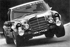 Mercedes-Benz 300 SEL 6.3 AMG, Spa-Francorchamps, 24 Hour Race, 1971