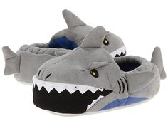 Stride Rite Lighted Mouth Shark (Toddler/Little Kid) Grey - Zappos.com Free Shipping BOTH Ways