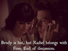 Well duh! #Finchel