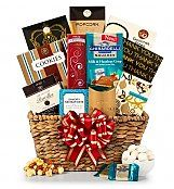 Deluxe Thank You Gift Basket: Gourmet Gift Baskets - A grand gift basket to memorably express your thanks.