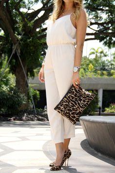 TOPSHOP pantsuit, HOBBS clutch, KURT GEIGER heels  Http://www.mungolife.fi