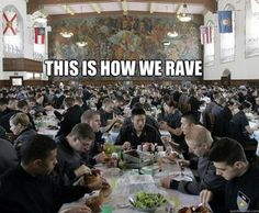 West Point Rave in the Washington Hall Mess Hall