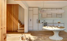 When the director of Australian architecture practice LAVA, Chris Bosse, acquired a new Sydney townhouse in desperate need of a renovation, he decided to personally tackle the challenge of transforming it into his new home. The property, named Tivoli...