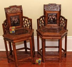 Antique Chinese furniture, Zhejiang Province, China, Lady's chair