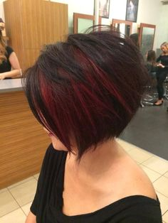 Short Hair Styles : Description A beautiful mix of reds by our educator stylist Adam Hair Color And Cut, Haircut And Color, Pretty Hairstyles, Bob Hairstyles, Hairstyle Ideas, Hair Ideas, Medium Hair Styles, Curly Hair Styles, Hair Medium