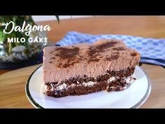 HOW TO MAKE DALGONA MILO CAKE | DALGONA MILO FUDGEE BARR REF CAKE - YouTube